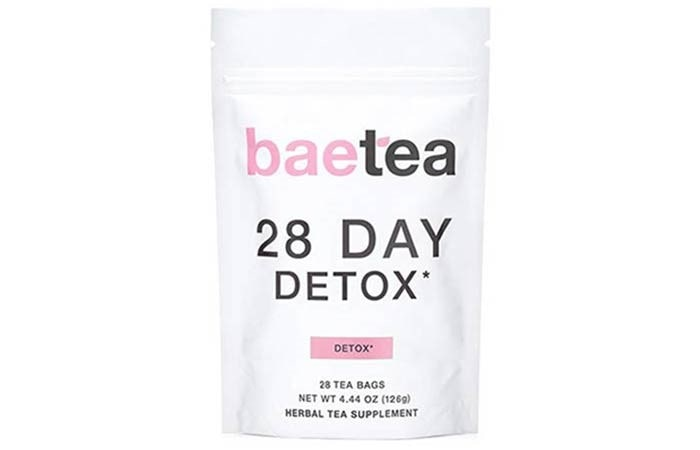 BaeTea 28 Day Teatox – Gentle Detox Tea
