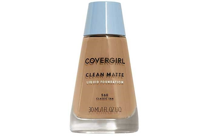 Covergirl Clean Matte Oil Control Liquid Makeup