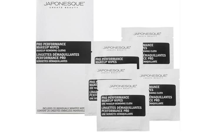 Japonesque Pro Performance Makeup Wipes