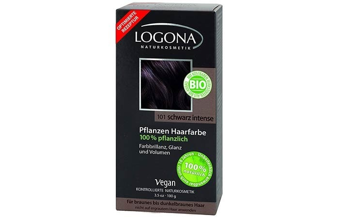Logona Natural Herbal Botanical Hair Color