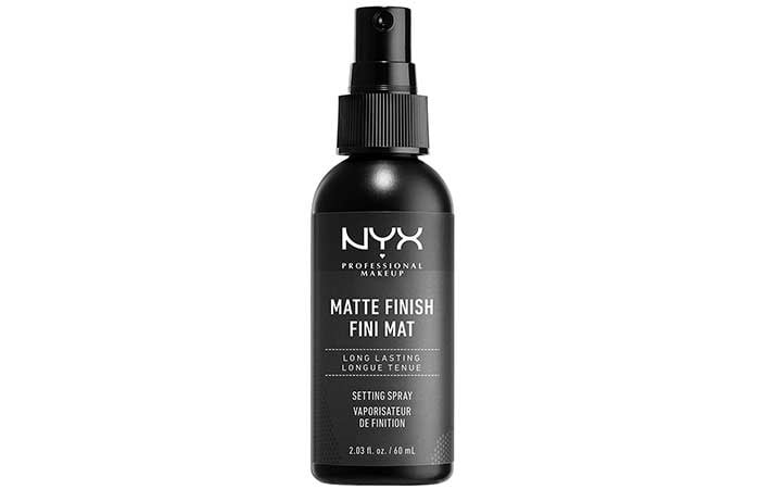 NYX Professional Makeup Matte Finish Setting Spray
