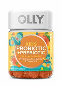 OLLY Kids Happy Tummy Gummy Supplements