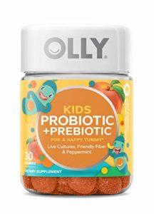 OLLY Kids Happy Tummy Gummy Supplements