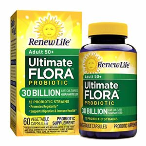 Renew Life 50+ Ultimate Flora Probiotic