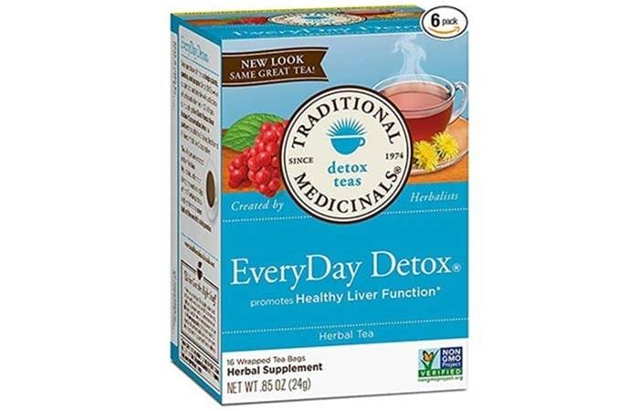Traditional Medicinals Organic EveryDay Detox Tea