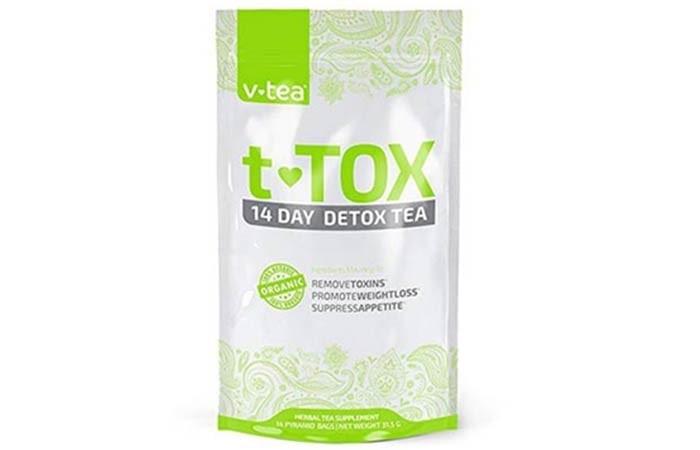 V tea T-tox 14 Day Detox Tea